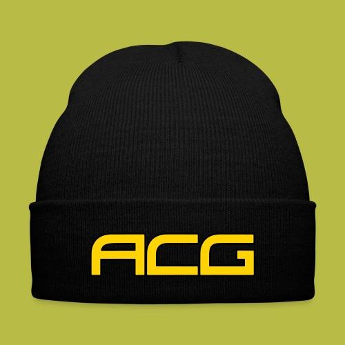 ACG Beanie2 - Knit Cap with Cuff Print