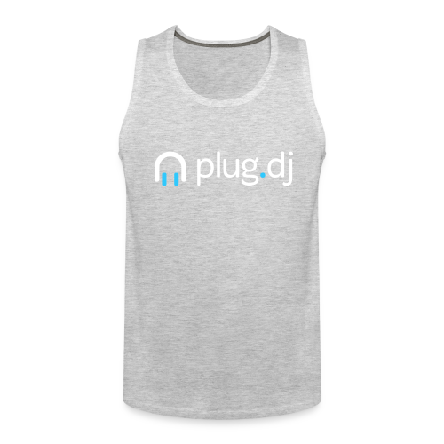 Men's Tank Top (White Logo) - Men's Premium Tank