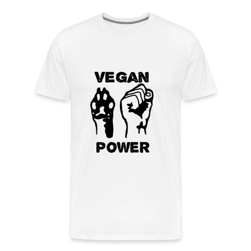 Vegan Power - Men's Premium T-Shirt