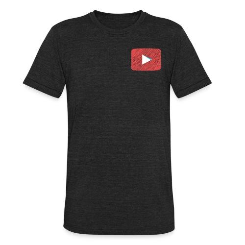 YouTube T-Shirt - Unisex Tri-Blend T-Shirt