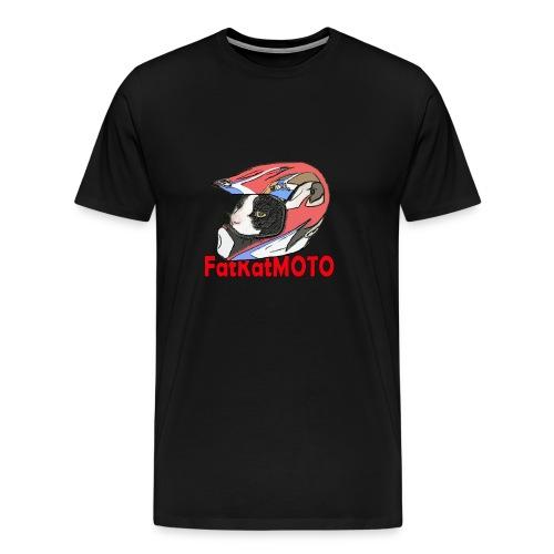 FatKatMOTO - Men's Premium T-Shirt