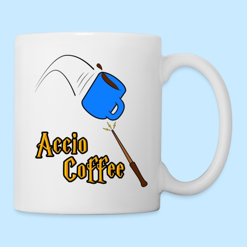 Accio Coffee! (handle on right) - Coffee/Tea Mug