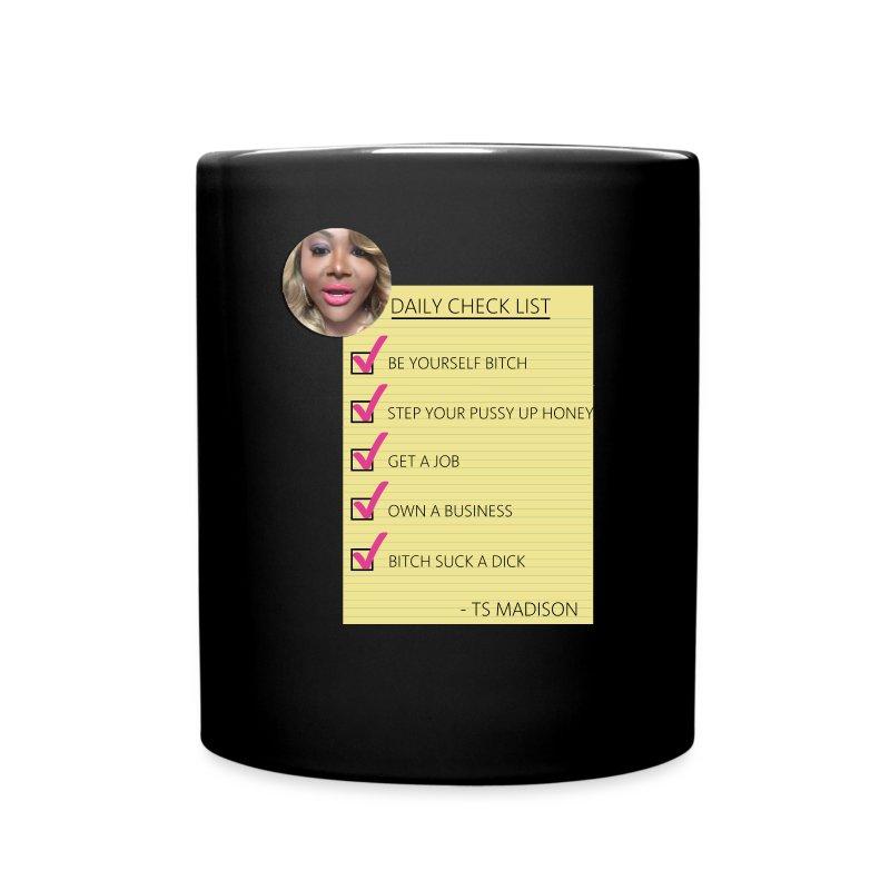 TS MADISON CHECKLIST Mug - Full Color Mug