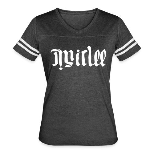 MIC:LEE Women's Vintage Sport T-Shirt (Legacy Logo) - Women's Vintage Sport T-Shirt