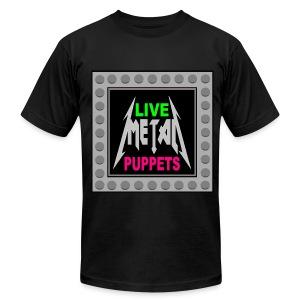 LIVE METAL PUPPETS (LARGER SIZES) - Men's Fine Jersey T-Shirt