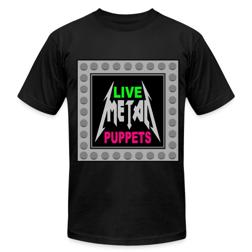 LIVE METAL PUPPETS (LARGER SIZES) - Men's Fine Jersey T-Shirt