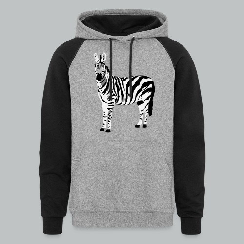 Zebra - Men's - Colorblock Hoodie