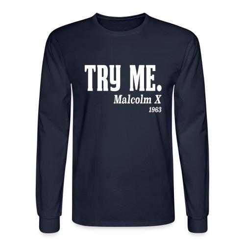 Malcolm T - Men's Long Sleeve T-Shirt