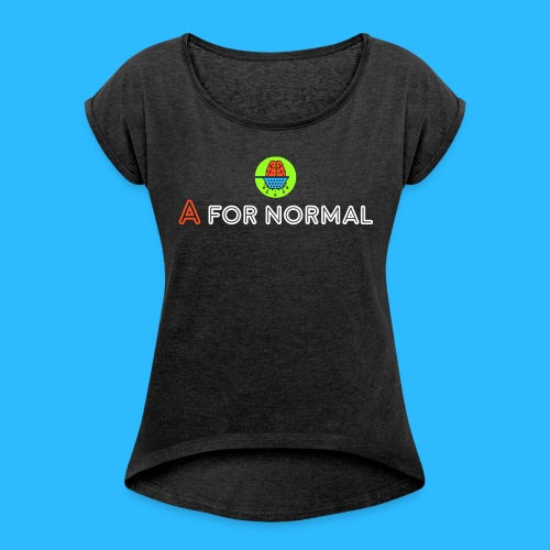 Brain Strain - Women's Roll Cuff T-Shirt