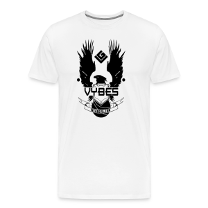 UNSC Vybes Men's T-shirt (White) - Men's Premium T-Shirt