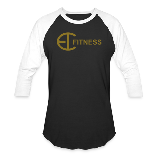 EI FITNESS-Gold 3/4 T-Shirt - Baseball T-Shirt