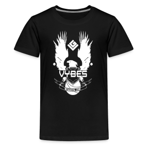 UNSC Vybes Kid's T-shirt (Black) - Kids' Premium T-Shirt