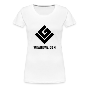 Vybes Women's T-Shirt (White) - Women's Premium T-Shirt