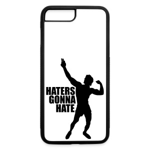 iPhone 7 Plus Case Zyzz Haters Gonna Hate - iPhone 7 Plus/8 Plus Rubber Case