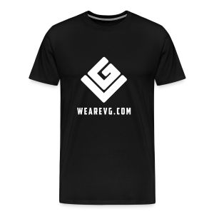 Vybes Men's T-Shirt (Black) - Men's Premium T-Shirt