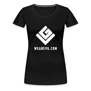 Vybes Women's T-Shirt (Black) - Women's Premium T-Shirt