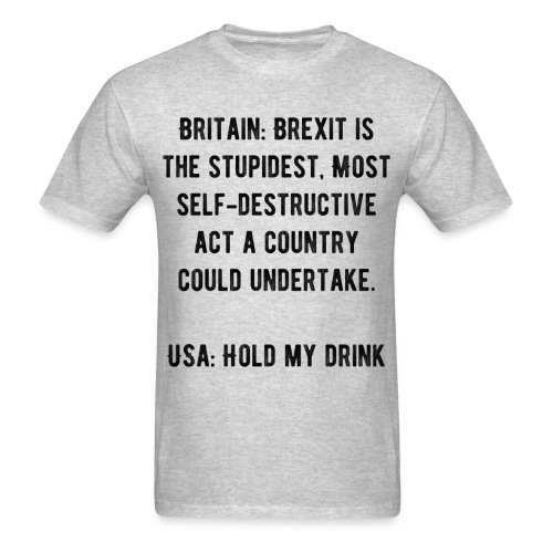 Hold My Drink - Men's T-Shirt