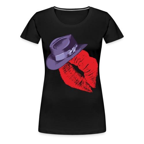 Fedora Premium Women - Women's Premium T-Shirt