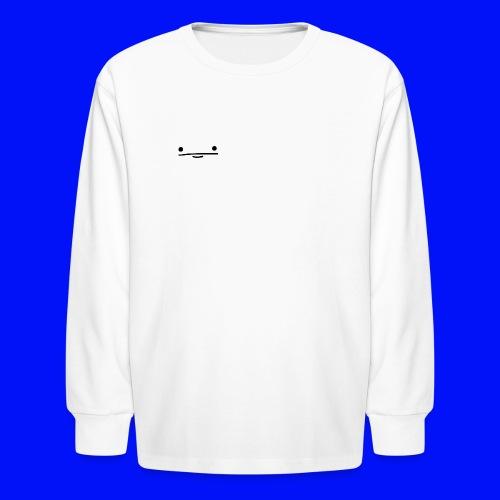 Pokerface Shirt - Kids' Long Sleeve T-Shirt