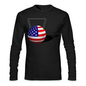 Mens Long sleeve - Men's Long Sleeve T-Shirt by Next Level