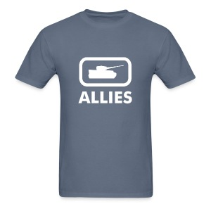 Allies Tank Logo Tee - Dark - Men's T-Shirt