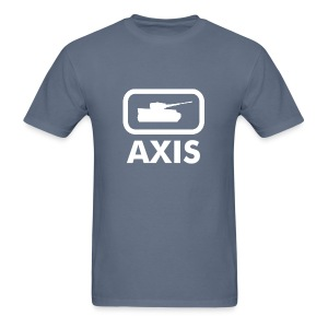 Axis Tank Logo Tee - Dark - Men's T-Shirt