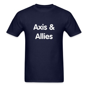 Axis & Allies Text Tee - Men's T-Shirt