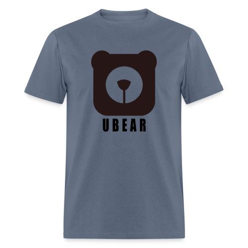 Men's T-Shirt - uber,uBear,scruff,gaybear,gay bears,gay bear,gay,cub,bears,bearpride,bearded,bear pride,bear gay,bear,LGBT