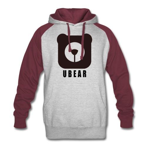 Colorblock Hoodie - uber,uBear,scruff,gaybear,gay bears,gay bear,gay,cub,bears,bearpride,bearded,bear pride,bear gay,bear,LGBT