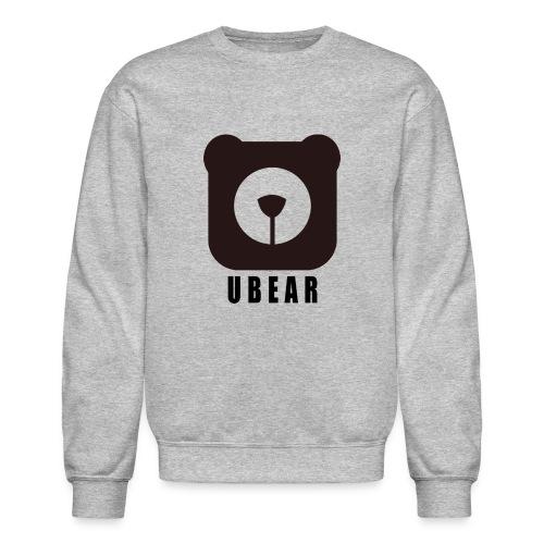 Crewneck Sweatshirt - uber,uBear,scruff,gaybear,gay bears,gay bear,gay,cub,bears,bearpride,bearded,bear pride,bear gay,bear,LGBT