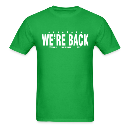 WE'RE BACK - 2017  - Men's T-Shirt