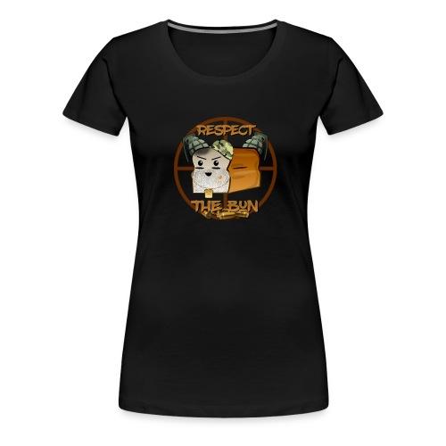 Respect the BuN women's T shirt - Women's Premium T-Shirt