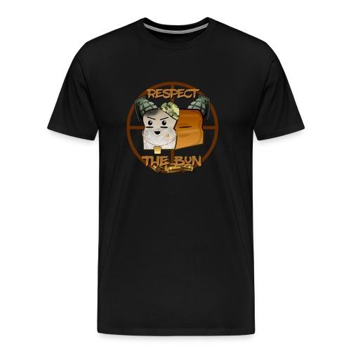 Respect the BuN T shirt - Men's Premium T-Shirt