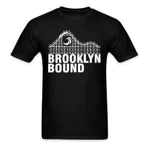 Brooklyn Bound - Black - Men's T-Shirt