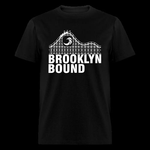 Brooklyn Bound - Black - Men's T-Shirt