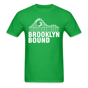 Brooklyn Bound - Green - Men's T-Shirt