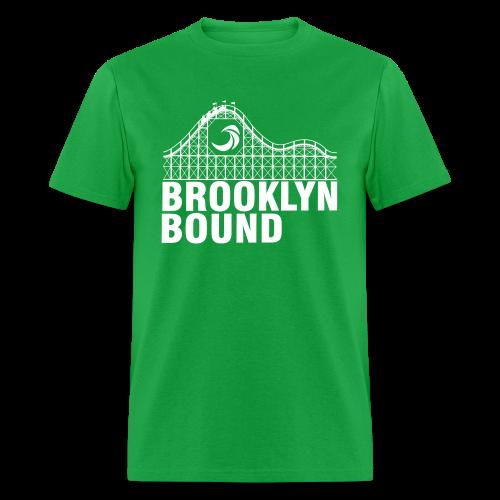 Brooklyn Bound - Green - Men's T-Shirt