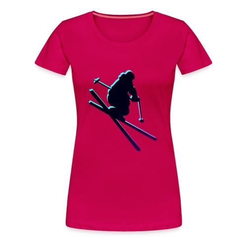 SKI~ - Women's Premium T-Shirt