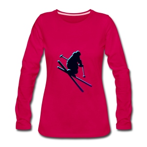 SKI~ - Women's Premium Long Sleeve T-Shirt