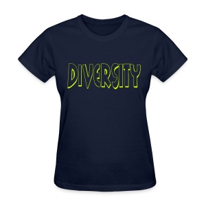 Diversity (Outline) - Women's T-Shirt