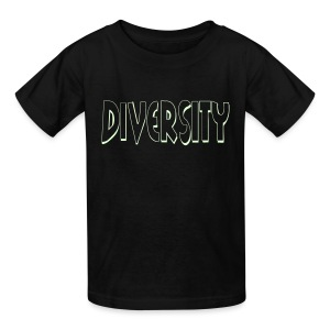 Diversity (Outline) - Kids' T-Shirt