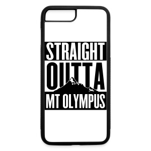 iPhone 7 Plus Case Straight Outta Mt Olympus - iPhone 7 Plus/8 Plus Rubber Case