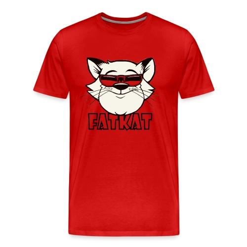 Big Kat Logo - Men's Premium T-Shirt
