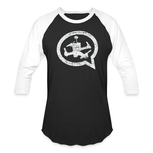 Distressed 3/4 Length - Baseball T-Shirt
