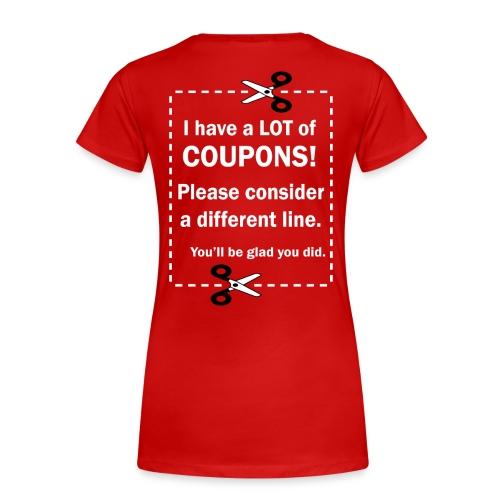 Women's Shirt - Up to 3X - Women's Premium T-Shirt
