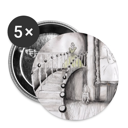 Ballroom - Small Pin - Small Buttons