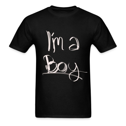 I'm a boy - T-shirt - Men's T-Shirt