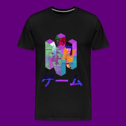 Nintendo 64 Vaporwave Art - Men's Premium T-Shirt