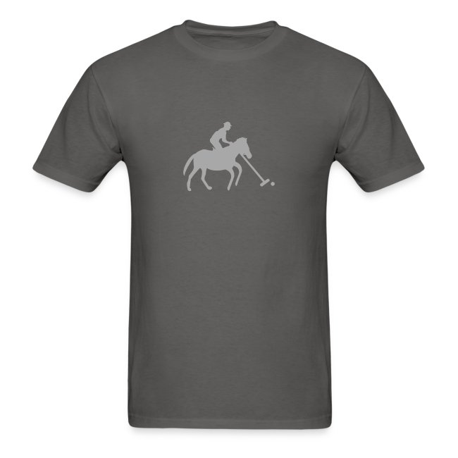 Polo Player in Silhouette