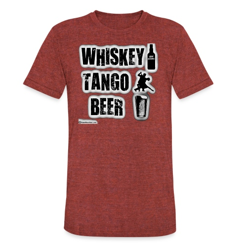 Whiskey Tango Beer Unisex Tri-Blend T-Shirt - Unisex Tri-Blend T-Shirt
